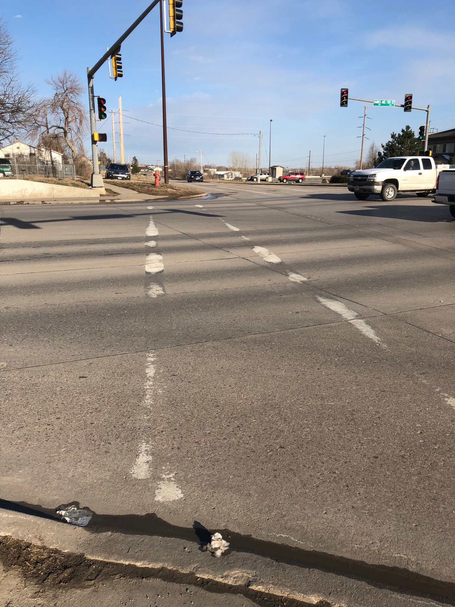 Faded pavement markings make S D  roads less safe | South